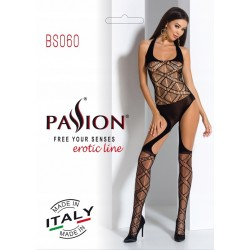 BODYSTOCKING BS048 PASSION CZARNE