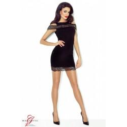 MARISSA - czarna sukienka DEMONIQ