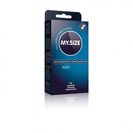 Prezerwatywy MY.SIZE 47mm 10 sztuk