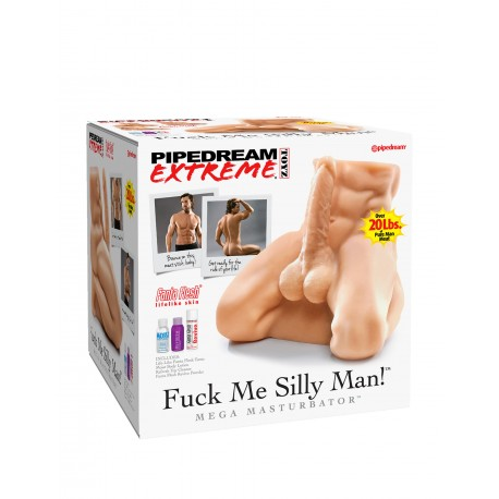Fuck Me Silly Man! Mega Masturbator