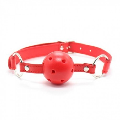 KNEBEL Breathable Ball Gag (red)