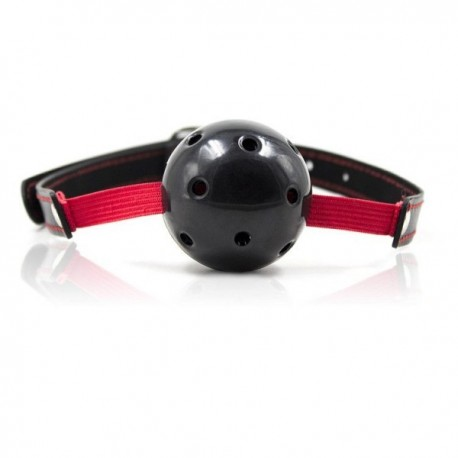 KNEBEL Breathable Ball Gag Stretch (nero)