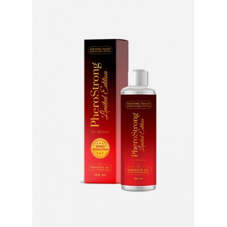 OLEJEK DO MASAŻU PHEROSTRONG LIMITED EDITION FOR WOMAN 100 ML