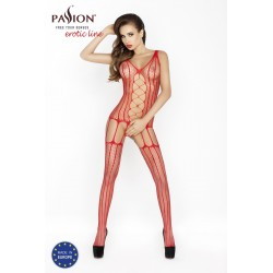 BODYSTOCKING BS013 PASSION CZERWONE