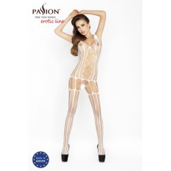 BODYSTOCKING BS013 PASSION BIAŁE