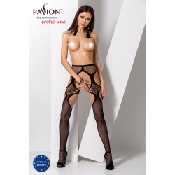 STRIP PANTY PASSION S023 CZARNE
