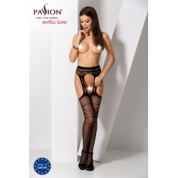 STRIP PANTY PASSION S020 CZARNE