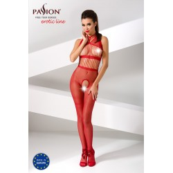 BODYSTOCKING BS048 PASSION CZERWONE