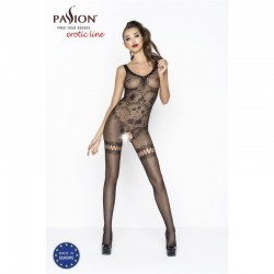 BODYSTOCKING BS045 PASSION CZARNY