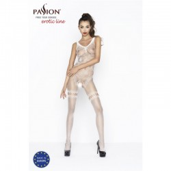 BODYSTOCKING BS045 PASSION BIAŁY